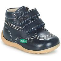 鞋子 男孩 短筒靴 Kickers BILLY VELK 海蓝色