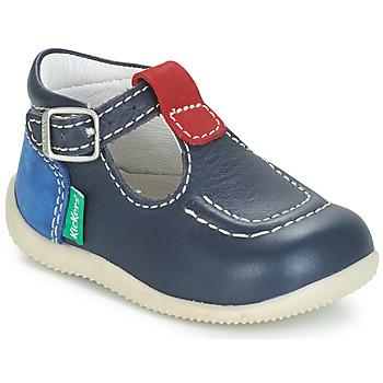 鞋子 儿童 平底鞋 Kickers BONBEK 海蓝色