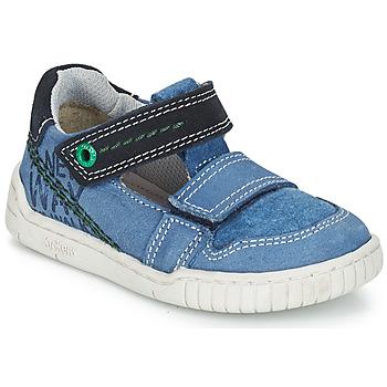 鞋子 男孩 凉鞋 Kickers WHATSUP 蓝色