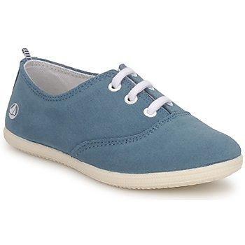 鞋子 儿童 球鞋基本款 Petit Bateau 小帆船 KENJI GIRL 蓝色