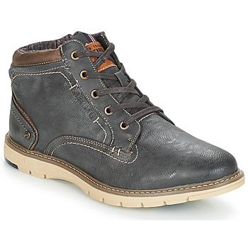 鞋子 男士 短筒靴 Mustang YELOU 灰色