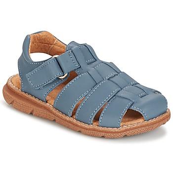 鞋子 男孩 凉鞋 Citrouille et Compagnie GLENO 牛仔