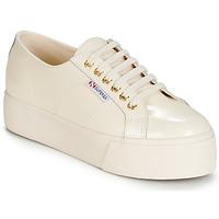 鞋子 女士 球鞋基本款 Superga 2790 LEAPATENT 浅米色