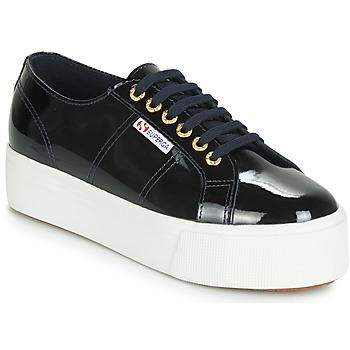 鞋子 女士 球鞋基本款 Superga 2790 LEAPATENT 海蓝色