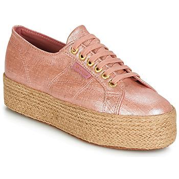 鞋子 女士 球鞋基本款 Superga 2790 LINRBRROPE 玫瑰色