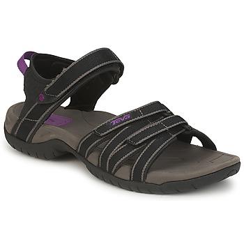 鞋子 女士 运动凉鞋 Teva TIRRA 黑色 / 灰色