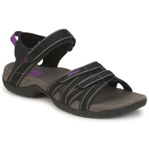鞋子 女士 凉鞋 Teva TIRRA 黑色 / 灰色
