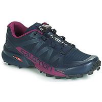 鞋子 女士 跑鞋 Salomon 薩洛蒙 SPEEDCROSS PRO 2 黑色 / 紫羅蘭