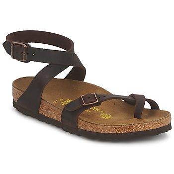 鞋子 女士 凉鞋 Birkenstock 勃肯 YARA PREMIUM 棕色
