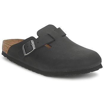 鞋子 洞洞鞋/圆头拖鞋 Birkenstock 勃肯 BOSTON PREMIUM 黑色