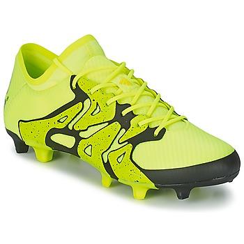 鞋子 男士 足球 adidas Performance 阿迪达斯运动训练 X 15.1 FG/AG 黄色