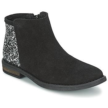 鞋子 女孩 短筒靴 Acebo's MERY 黑色
