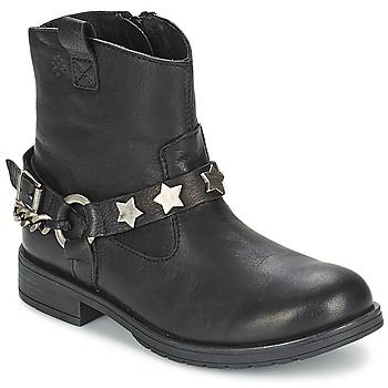 鞋子 女孩 短筒靴 Acebo's JERIE 黑色
