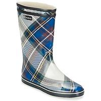 鞋子 女士 雨靴 Aigle MALOUINE PRINT 海蓝色