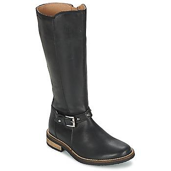 鞋子 女孩 都市靴 Garvalin KAISER 黑色
