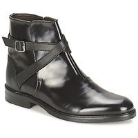 鞋子 女士 短筒靴 Hudson IRVINE 黑色