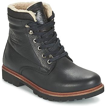 鞋子 男士 短筒靴 Panama Jack 巴拿马 杰克 PANAMA 黑色