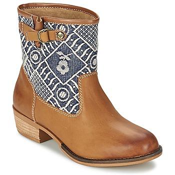 鞋子 女士 短筒靴 Roxy 罗克西 CLYDE 棕色
