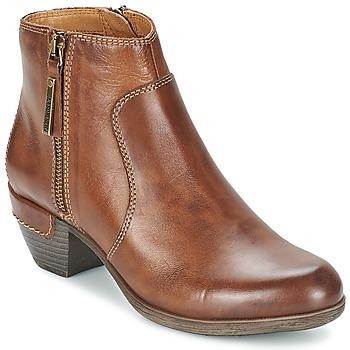 鞋子 女士 短靴 Pikolinos 派高雁 ROTTERDAM MILI 902 棕色