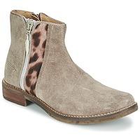 鞋子 女孩 短筒靴 Shwik by Pom d'Api TIJUANA WILD 灰褐色