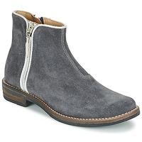 鞋子 女孩 短筒靴 Shwik by Pom d'Api TIJUANA BIDING 灰色