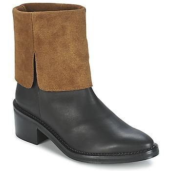 鞋子 女士 短筒靴 Miista KAMILA 黑色 / 棕色