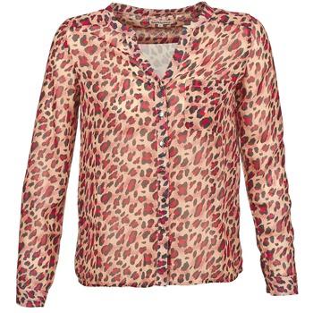 衣服 女士 长袖衬衫 Best Mountain AZARI 米色 / 红色