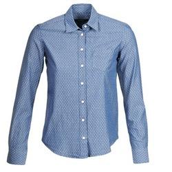 衣服 女士 衬衣/长袖衬衫 Gant EXUNIDE 蓝色