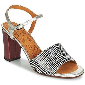 鞋子 女士 凉鞋 Chie Mihara PARIGI 银灰色 / 黑色