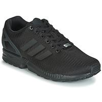 鞋子 男士 球鞋基本款 Adidas Originals 阿迪达斯三叶草 ZX FLUX 黑色