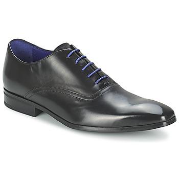 鞋子 男士 系带短筒靴 Azzaro 阿莎露 NOBODAN 黑色
