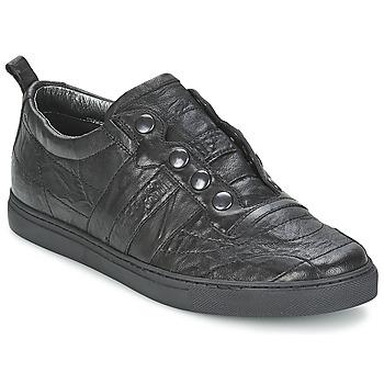 鞋子 男士 球鞋基本款 Bikkembergs SOCCER CAPSULE 522 黑色