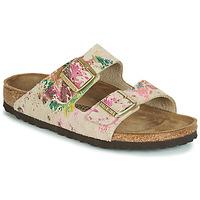 鞋子 女士 休闲凉拖/沙滩鞋 Birkenstock 勃肯 ARIZONA 米色