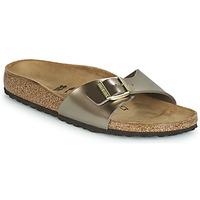 鞋子 女士 休闲凉拖/沙滩鞋 Birkenstock 勃肯 MADRID 古銅色