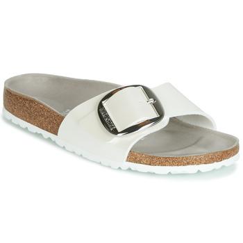 鞋子 女士 休闲凉拖/沙滩鞋 Birkenstock 勃肯 MADRID BIG BUCKLE 白色