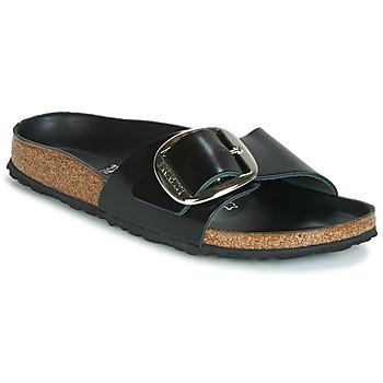 鞋子 女士 休閑涼拖/沙灘鞋 Birkenstock 勃肯 MADRID BIG BUCKLE 黑色