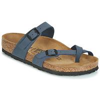 鞋子 女士 休闲凉拖/沙滩鞋 Birkenstock 勃肯 MAYARI 海蓝色