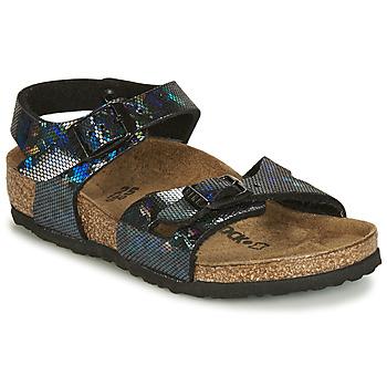 鞋子 女孩 凉鞋 Birkenstock 勃肯 RIO 黑色