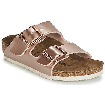 鞋子 女孩 休闲凉拖/沙滩鞋 Birkenstock 勃肯 ARIZONA 金色