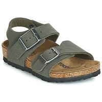 鞋子 男孩 凉鞋 Birkenstock 勃肯 NEW YORK 灰色
