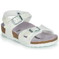 鞋子 女孩 凉鞋 Birkenstock 勃肯 RIO 白色
