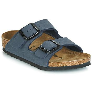 鞋子 男孩 休闲凉拖/沙滩鞋 Birkenstock 勃肯 ARIZONA 海军蓝