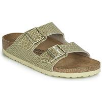 鞋子 女士 休闲凉拖/沙滩鞋 Birkenstock 勃肯 ARIZONA 金色