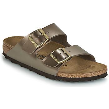 鞋子 女士 休闲凉拖/沙滩鞋 Birkenstock 勃肯 ARIZONA 古銅色