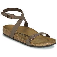 鞋子 女士 凉鞋 Birkenstock 勃肯 DALOA 棕色