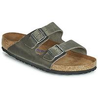 鞋子 男士 休闲凉拖/沙滩鞋 Birkenstock 勃肯 ARIZONA SFB 灰色