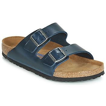 鞋子 男士 休闲凉拖/沙滩鞋 Birkenstock 勃肯 ARIZONA SFB 蓝色
