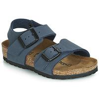 鞋子 男孩 凉鞋 Birkenstock 勃肯 NEW YORK 海蓝色