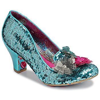 鞋子 女士 高跟鞋 Irregular Choice CARIAD 藍色
