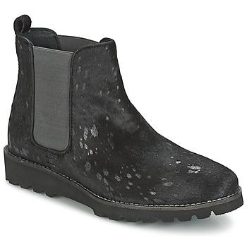 鞋子 女士 短筒靴 Maruti PASSION 黑色